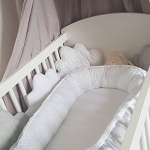 Elephants Baby Nest Bed Or Toddler Size Nest Portable Crib Lounger