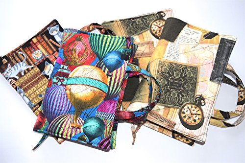 Quilted Large Paperback Or Hardcover Book Cover Up To 8 5